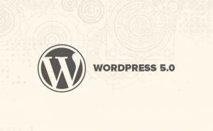 Wordpress 5 welcome